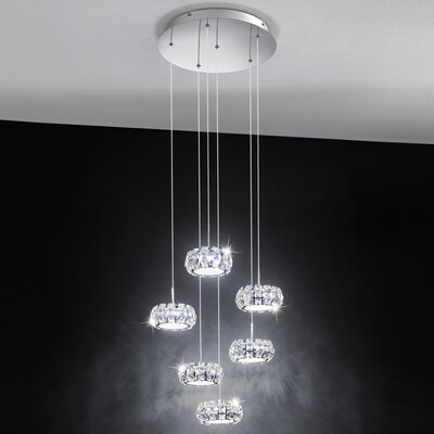 Eglo Corliano 6 Light Cascade Pendant