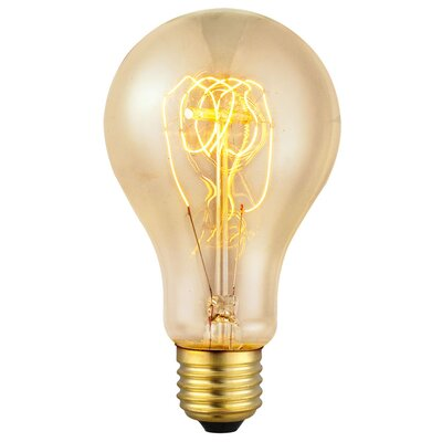 Eglo 60W Yellow E27/Medium Incandescent Light Bulb