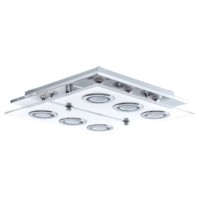 Eglo Cabo 6 Light Flush Ceiling Light