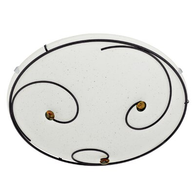 Eglo Scarleth 1 Light Flush Wall/Ceiling Light