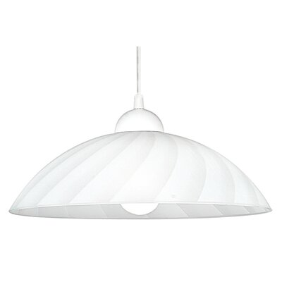 Eglo Vetro 1 Light Bowl Pendant