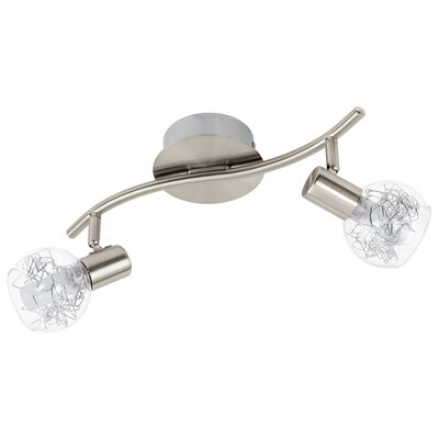 Eglo Basento 2 Light Ceiling Spotlight