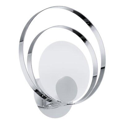 Eglo Ringo 1 Light Semi-Flush Wall Light