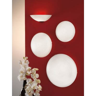 Eglo Malva 1 Light Flush Wall/Ceiling Light