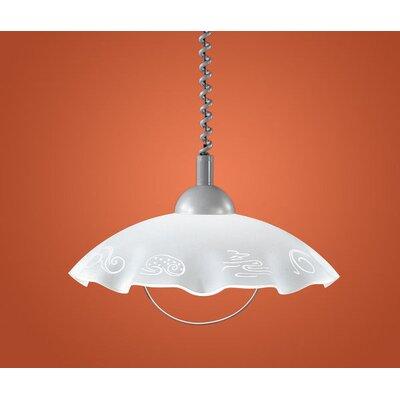 Eglo Brenda 1 Light Bowl Pendant