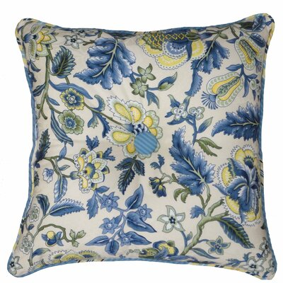 Waverly Imperial Dress Garden Path Reversible Cotton Throw Pillow