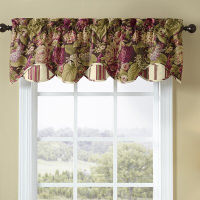 Waverly Floral Flourish Cordial 60 Quot Valance Amp Reviews