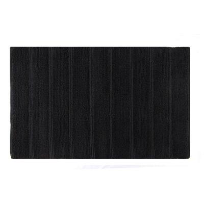 Frameloom Loop Bath Rug Color: Black