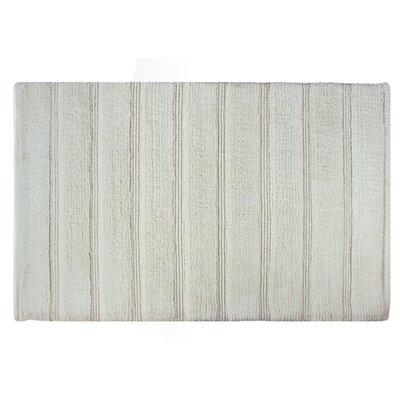 Frameloom Loop Bath Rug Color: White