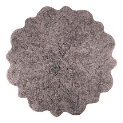 Over Tufted Petals Bath Rug Color: Mink