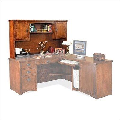 "Mission Pasadena 36"" H x 64"" W Desk Hutch"