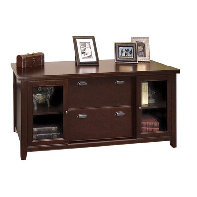 Tribeca Loft - Cherry 2 Door Accent Cabinet