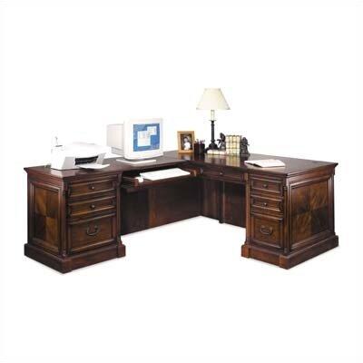 Mt. View Office L-Shape Executive Desk