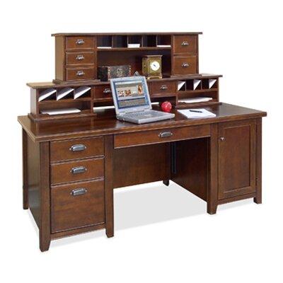 Tribeca Loft Executive Desk with Hutch