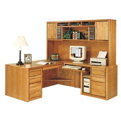 """42.75"""" H x 78.5"""" W Desk Hutch"""