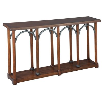Arched Front Console Table