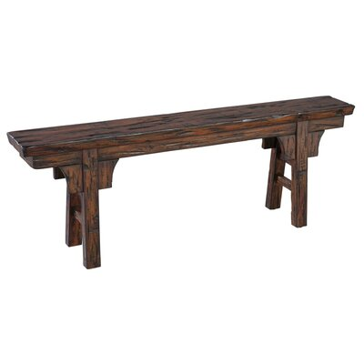 Peasant Wood Bench