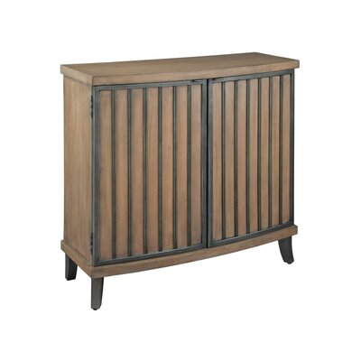 Burnished Pewter 2 Door Accent Cabinet