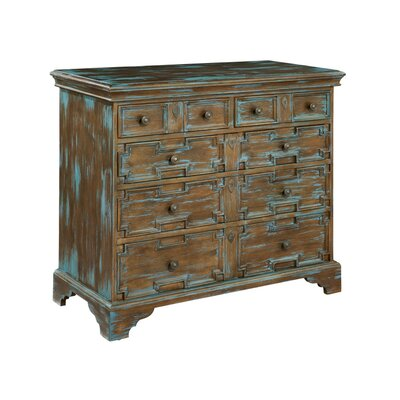 Old World 5 Drawer Accent Chest