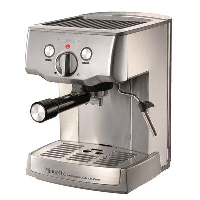 Cafe Minuetto Professional Die-Cast Espresso/Cappuccino Maker