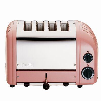 4 Slice NewGen Toaster Finish: Pink