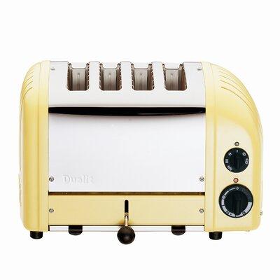 4 Slice NewGen Toaster Finish: Yellow