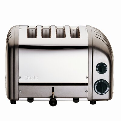 4 Slice NewGen Toaster Finish: Gray