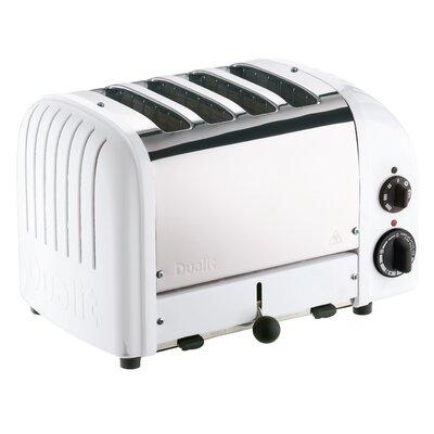 4 Slice NewGen Toaster Finish: White