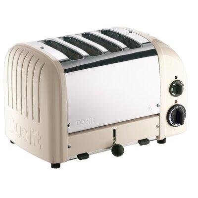 4 Slice NewGen Toaster Finish: Clay