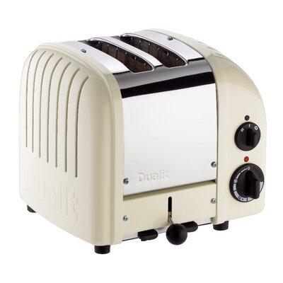 2 Slice NewGen Toaster Finish: Canvas White