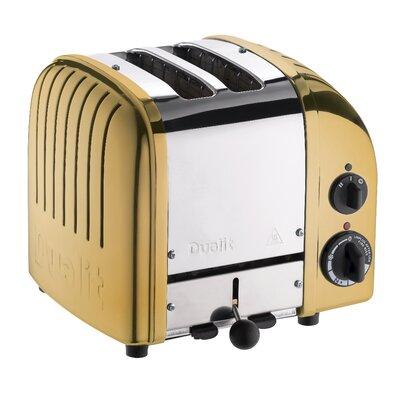 2 Slice NewGen Toaster Finish: Brass
