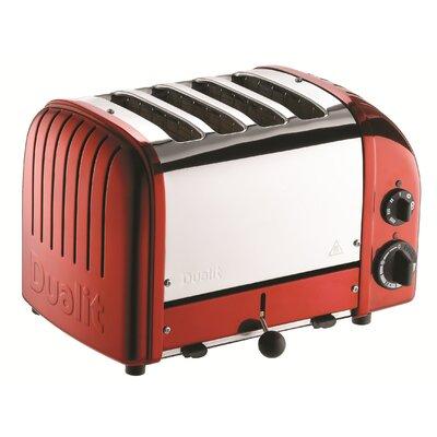 4 Slice NewGen Toaster Finish: Apple Candy Red
