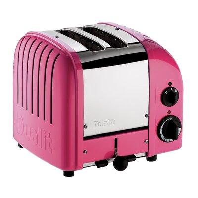 2 Slice NewGen Toaster Finish: Chilly Pink