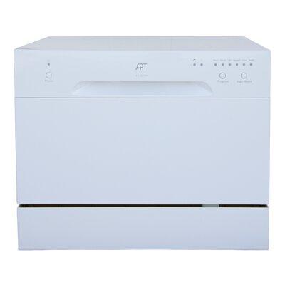 "22"" Countertop Dishwasher Finish: White"