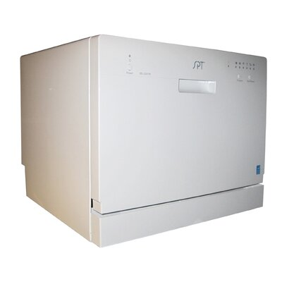 "22"" 55 dBA Compact Dishwasher"