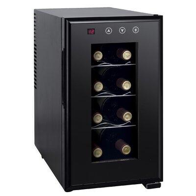 8 Bottle Single Zone Freestanding Wine Cooler
