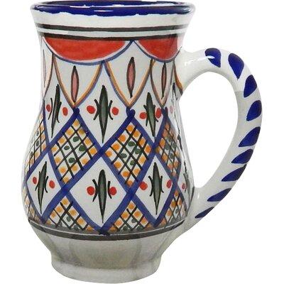 Le Souk Ceramique Tabarka Design 16 oz. Large Mug