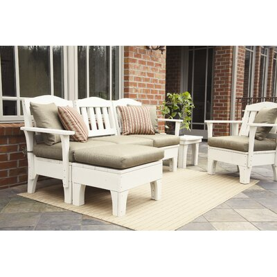 Uwharrie Chair Westport 9 Piece Deep Seating Group with Cushions