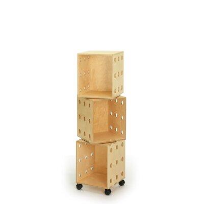 "Offi Perf 49"" Cube Unit Bookcase"