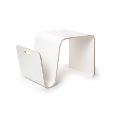 MAG Side Table Color: Laminate White