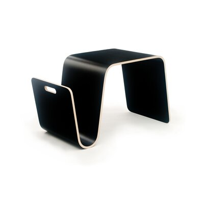 MAG Side Table Color: Laminate Black