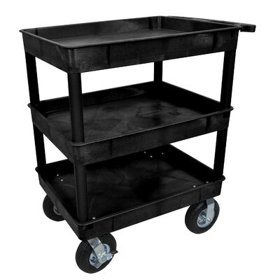 Utility Cart Color: Black