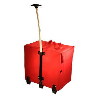 Wide Load Smart Utility Cart Color: Red