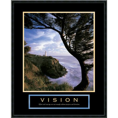 Amanti Art Vision Lighthouse Framed Photographic Print