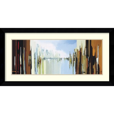 Amanti Art 'Urban Abstract No. 242' by Gregory Lang Framed Painting Print