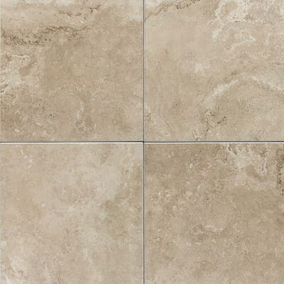"American Olean Pozzalo 18"" x 18"" Ceramic Field Tile in Coastal Beige"