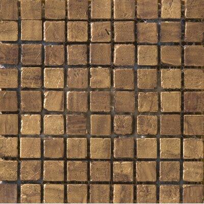 """Treasure 0.6"""" x 0.6"""" Travertine Mosaic Tile in Santa Cecilia"""