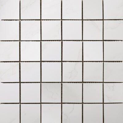 "Paladino 2"" x 2/12"" x 12"" Porcelain Mosaic Tile in Albanella Matte"