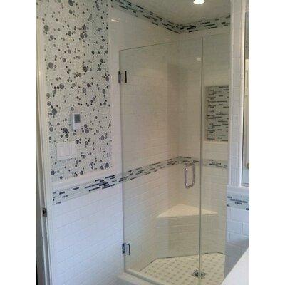 "Semplice 3"" x 6"" Ceramic Subway Tile in Glossy White"