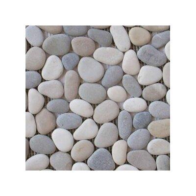 Emser Tile Venetian Random Sized Pebble Tile in Medici